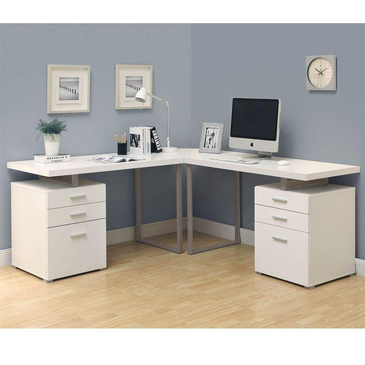 25 best ideas about L Shaped Desk on Pinterest  Office