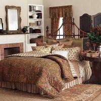 Ralph Lauren Chaps Chandler Paisley King Comforter Set 4 ...