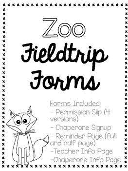 25+ best ideas about Field trip permission slip on
