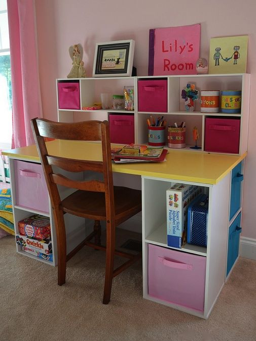 25+ best ideas about Kid desk on Pinterest