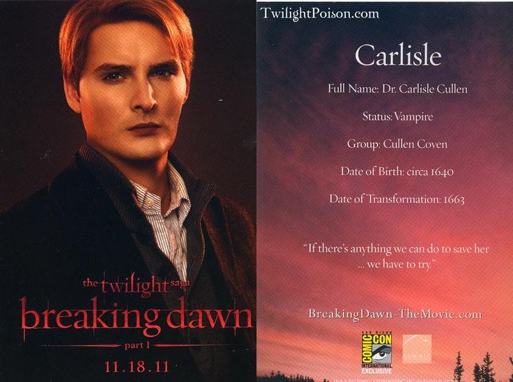17 Best Images About Dr Carlisle Cullen On Pinterest