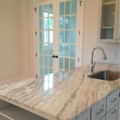 Red Kitchen Cabinets Island With Pull Out Table Terra Bianca In Charleston | Granite Pinterest ...