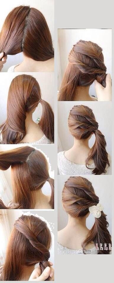 58 Best Images About Hairstyles On Pinterest Easy Hairstyles