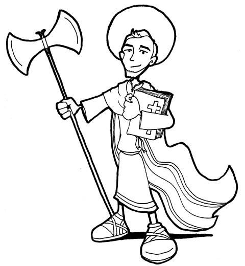 Jude Coloring Pages