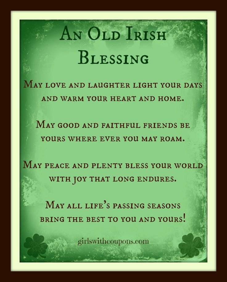 1000 images about Irish Blessings on Pinterest  Patrick obrian Celtic crosses and The irish