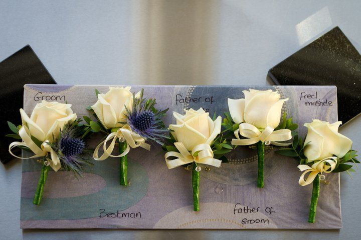 Wedding Flowers Buttonholes