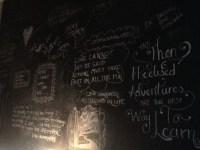 My bedroom wall. Teenage bedroom. Chalkboard wall. DIY ...