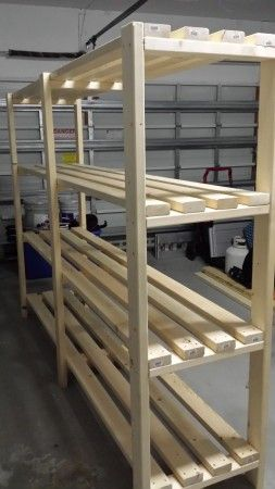 Great Plan for Garage Shelf!   Do It Yourself Home Projects from Ana White