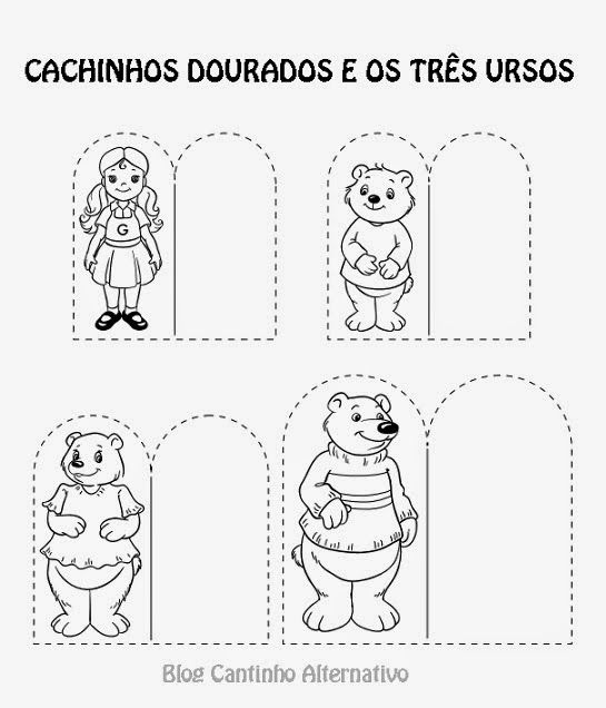 192 best images about Cachinhos Dourados on Pinterest