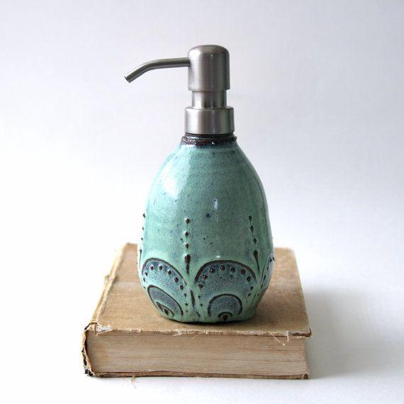 kitchen dish soap dispenser curtains purple - bottle pump aqua mist french ...