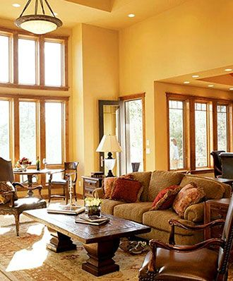 17 Best ideas about Mustard Living Rooms on Pinterest