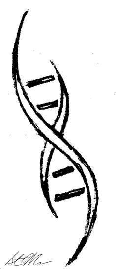 dna symbol tattoo