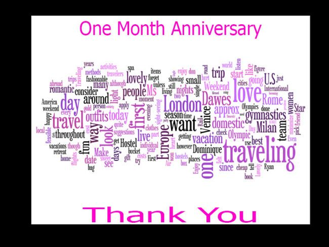 1000+ Ideas About Happy One Month Anniversary On Pinterest