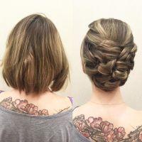 Best 20+ Short hair updo ideas on Pinterest | Hair updos ...