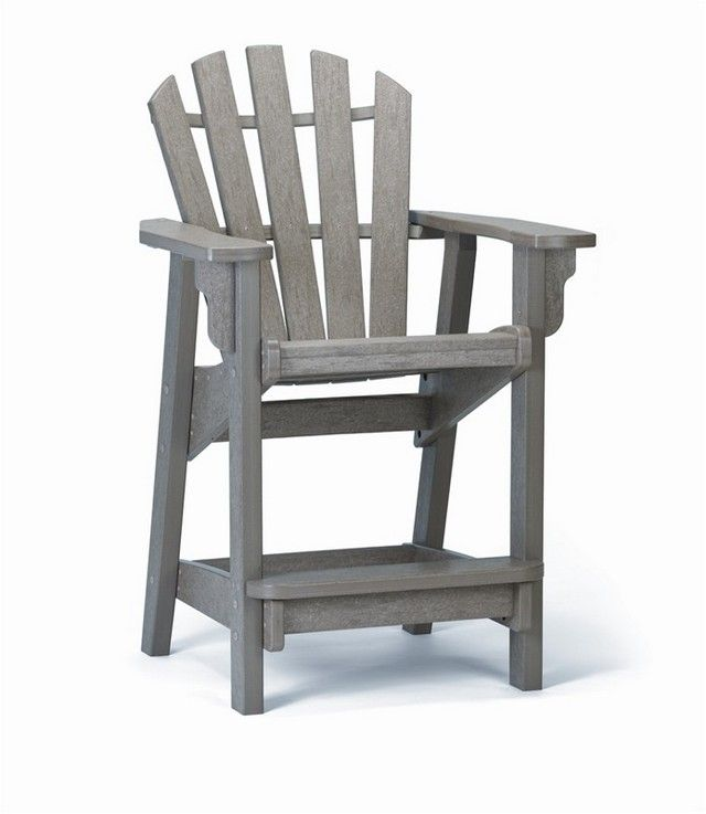 Bar Height Adirondack Chair Plans  WoodWorking Projects