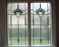 25+ best ideas about Stained glass window film on