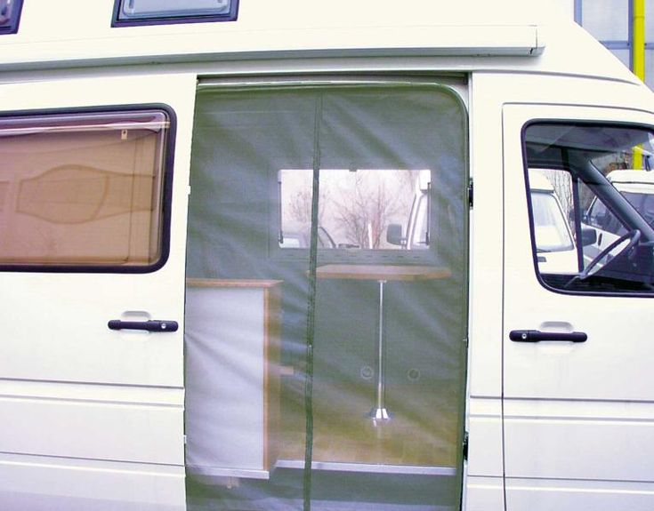 Screen So You Can Keep Door Open Reimo Moskitonetz VW