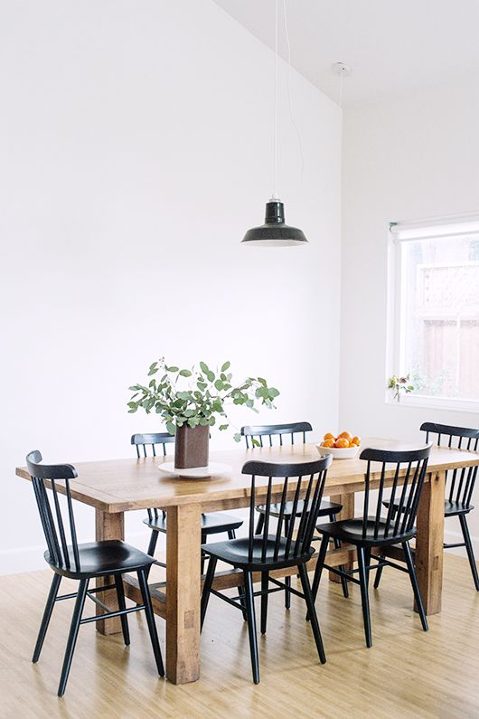 25 best ideas about Black Dining Tables on Pinterest  Furniture for dining room Black kitchen