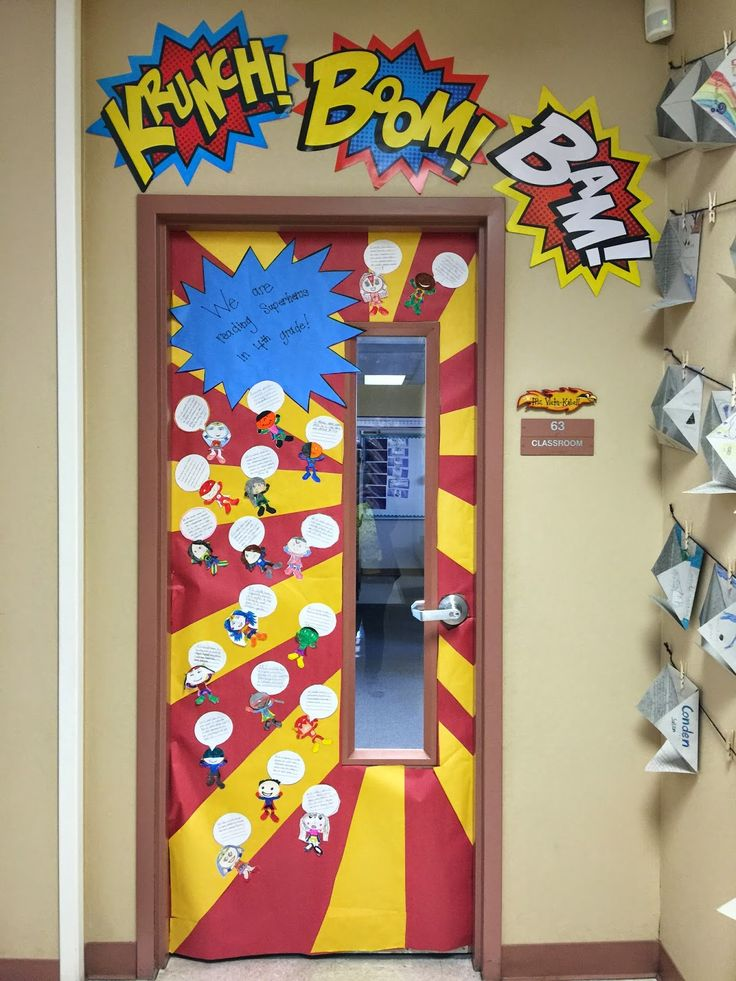 25+ Best Ideas About Superhero Door On Pinterest  Superhero Bulletin Boards, Superhero