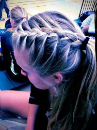 17 Best ideas about Cute Volleyball Hairstyles on ...