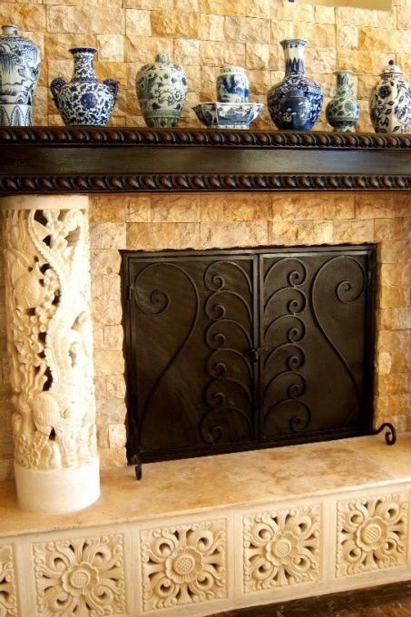 135 Best Images About Fireplaces Hearths On Pinterest