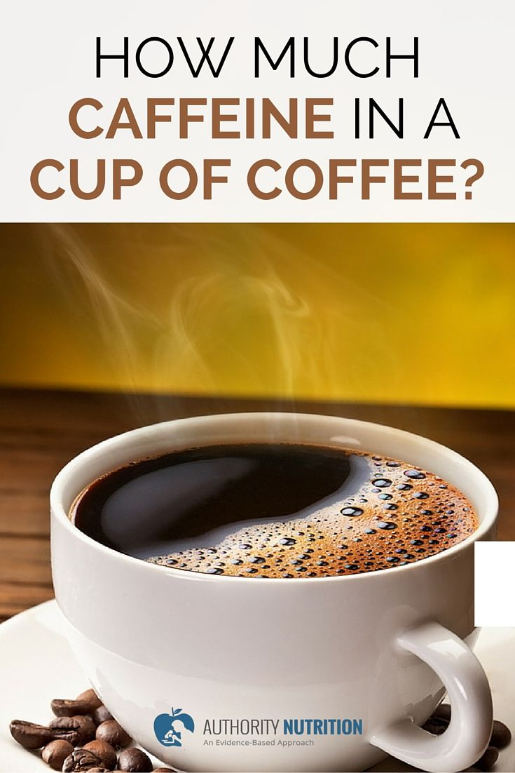 Image Result For How Many Milligrams Of Caffeine In A Cup Of Coffeea