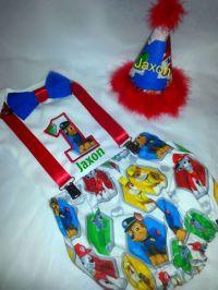 Boys Paw Patrol Birthay Cake Smash Outfit by ...