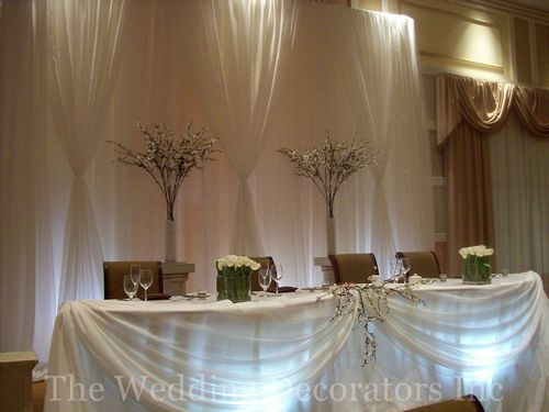 33 Best Images About Wedding Head Table Decorations On Pinterest Wedding Head Tables And