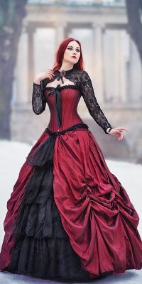 25+ best ideas about Gothic Wedding Dresses on Pinterest ...
