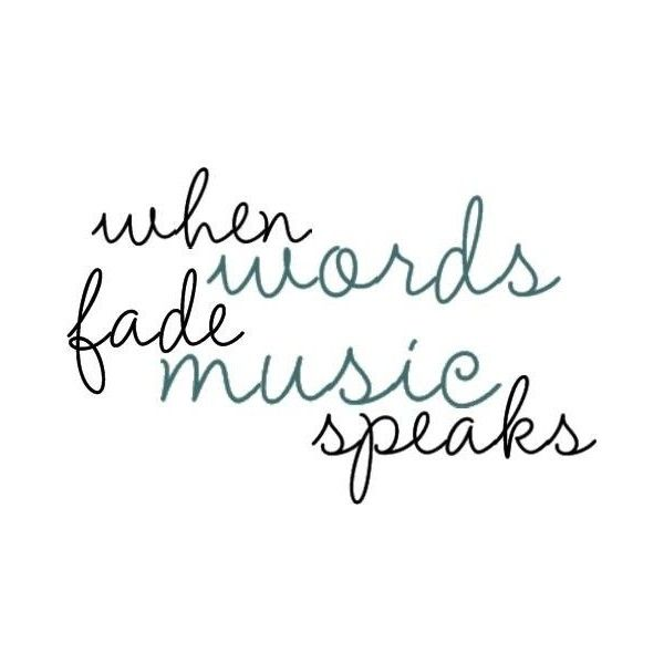 Best 25+ Quotes on music ideas on Pinterest