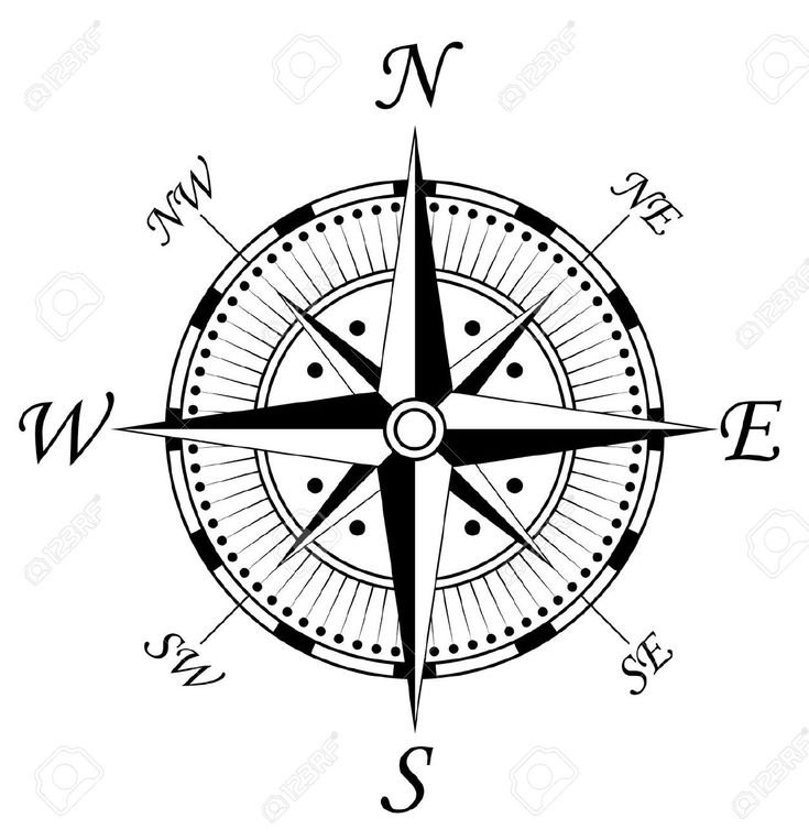 Meaning Of Compass Rose Tattoo