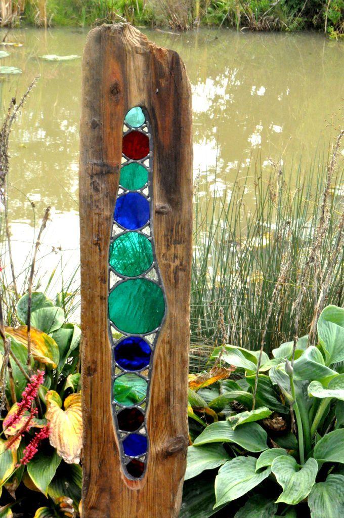 25 Best Ideas About Garden Art On Pinterest Glass Bead Crafts