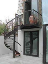 Spiral Staircase design - Belsize Square, London Antony ...