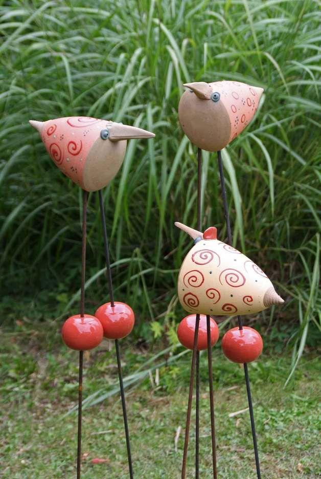 25 Best Ideas About Keramikfiguren On Pinterest Zaunhocker
