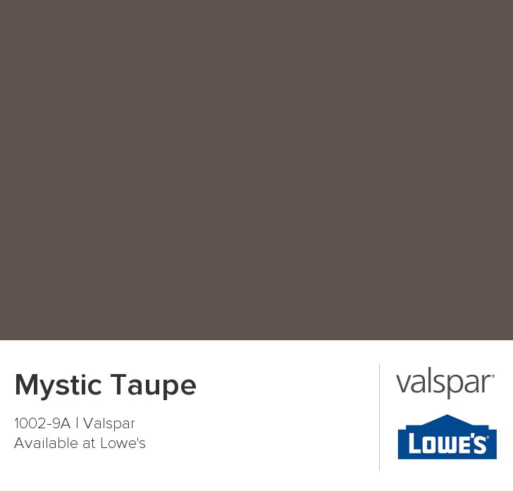 Mystic Taupe From Valspar Outside Color Ideas