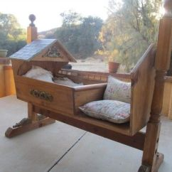 Wooden Rocking Chair Plans Baby Cover Pattern Amazing Hand Made Wood Fairy Tale Cradle Rocker Bassinet   I Like It! Pinterest Rockers And ...