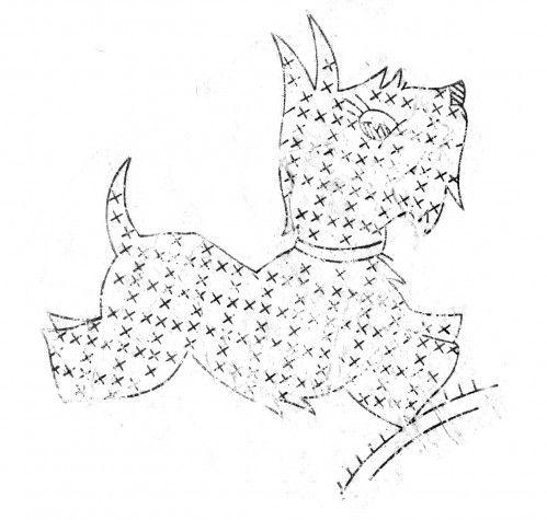 1000+ images about Scottie Patterns on Pinterest