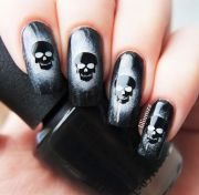 ideas skull nails