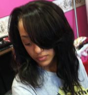 teen sew in face 2 weave
