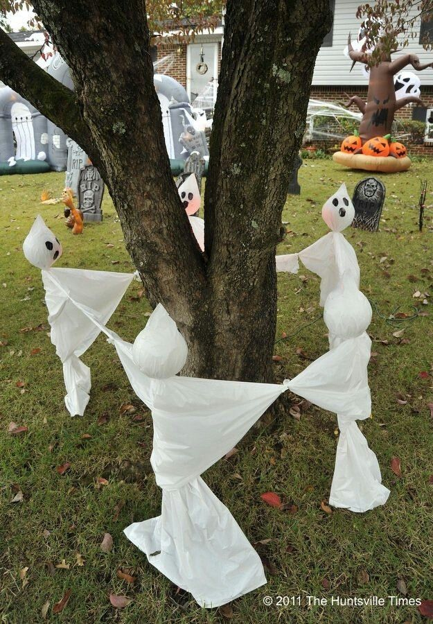 Diy Outdoor Halloween Decorations Pinterest