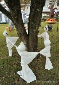 Diy Outdoor Halloween Decorations Pinterest - diy-scary ...