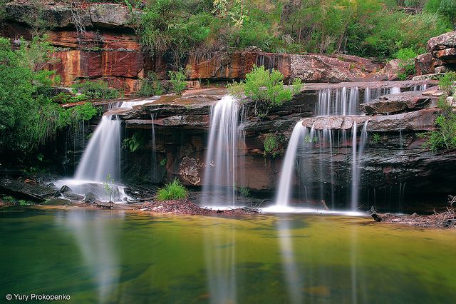 Great Falls Mo Wallpapers Hd Widescreen Waterfall Winifred Falls Royal National Park Nsw