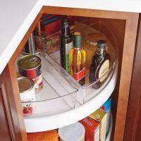 InterDesign Cabinet Binz Lazy Susan Quarter Wedge ...