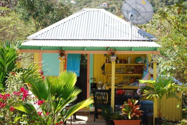 Colorful Caribbean Cottage Cottages Pinterest