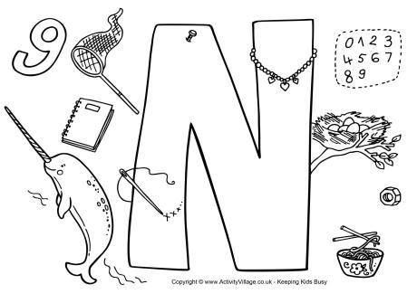 43 best images about Letter N on Pinterest