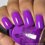 ideas purple nails