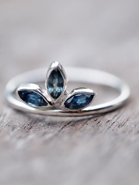 1000 ideas about Sapphire on Pinterest  Pretty rings