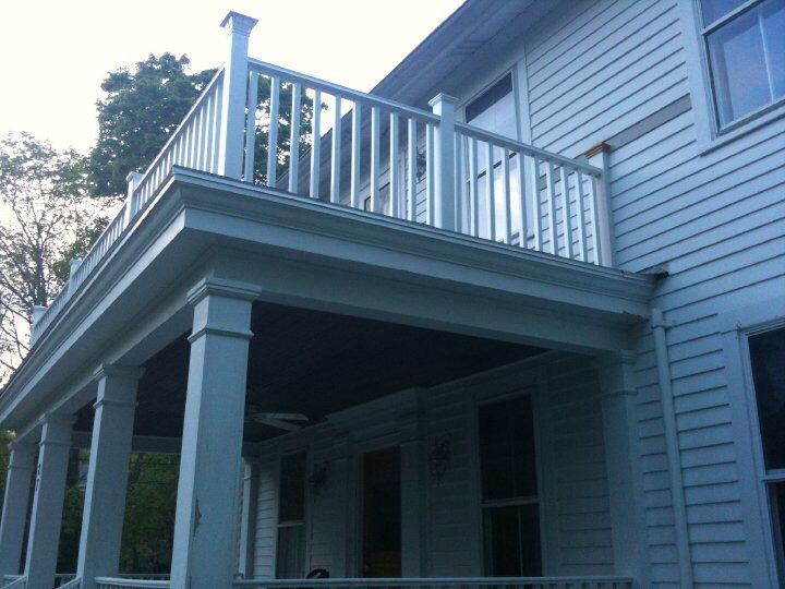 17 Best images about Deck Building and Refacing on Pinterest  2nd floor Vinyls and Cable