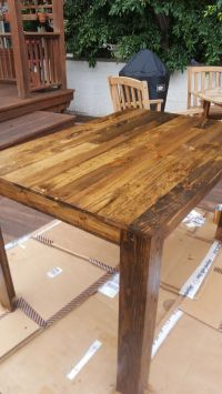 10+ best ideas about Pallet Dining Tables on Pinterest