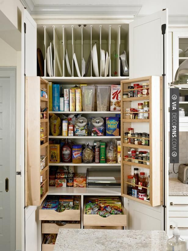 Like This The Floor To Ceiling 40 Inch Wide Pantry